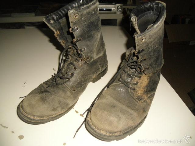 BOTAS MILITARES TALLA 44 EL DE FOTO (Militar - Botas y Calzado)