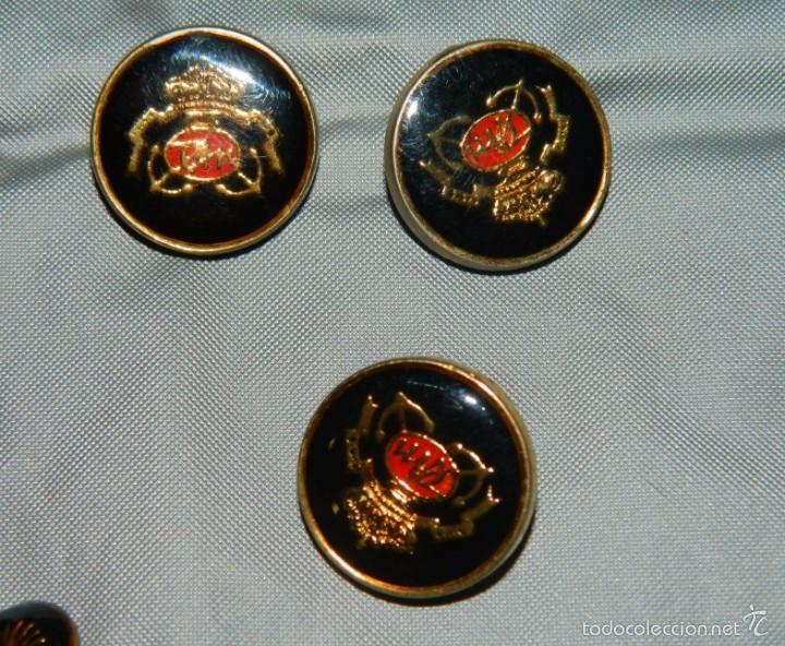 Militaria: Lote botones esmaltados negros y otros - Foto 3 - 58220875