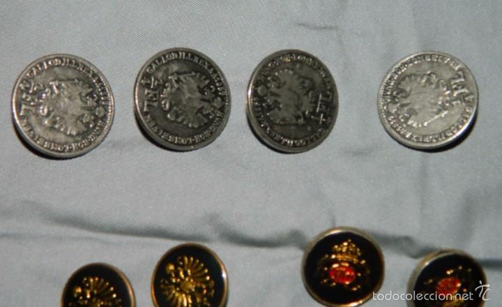 Militaria: Lote botones esmaltados negros y otros - Foto 4 - 58220875