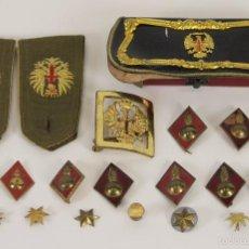 Militaria: COLECCION DE INSIGNIAS MILITARES. POST GUERRA CIVIL ESPAÑOLA. AÑOS 40/50.. Lote 57384008