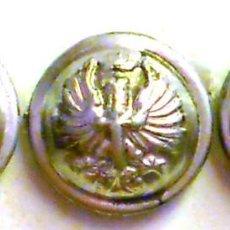 Militaria: BOTÓN ET MODELO 1943 16 MM PLATEADO PRECIO POR UNIDAD. Lote 58501065