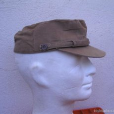 Militaria: GORRA COREANA DE REGULARES, M67. GORRILLA DE FAENA DE REGULARES, ATN GARBANZO.. Lote 58544650
