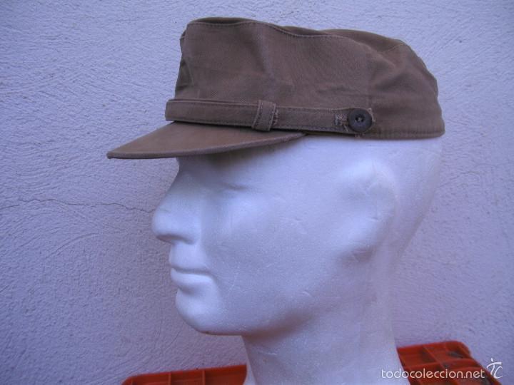Militaria: GORRA COREANA DE REGULARES, M67. GORRILLA DE FAENA DE REGULARES, ATN GARBANZO. - Foto 3 - 58544650