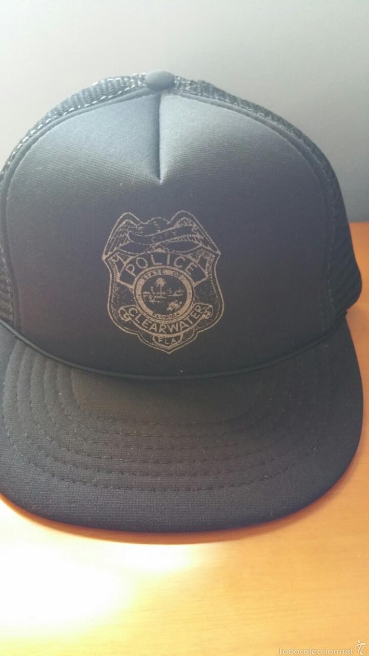 GORRA POLICIAL TIPO BEISBOL (Militar - Boinas y Gorras )