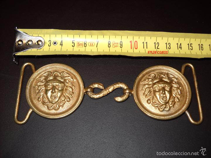 Militaria: Hebillas dobles típica para generales con su cierre en forma de serpiente. - Foto 3 - 58934520