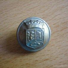 Militaria: BOTÓN GRANDE AYUNTAMIENTO DE MADRID.. Lote 59834692
