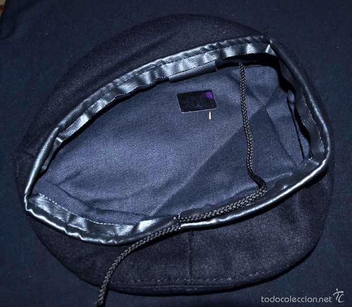 Militaria: Boina negra de marinero - Foto 3 - 60107055