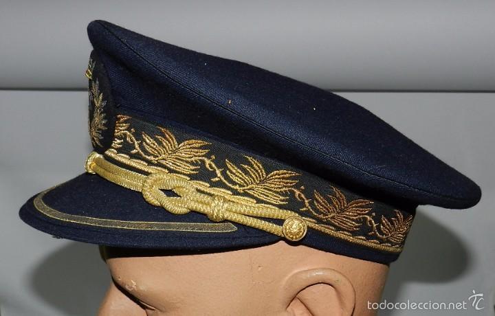 Militaria: GORRA DE PLATO DE ALTO OFICIAL DE BOMBEROS, EPOCA DE FRANCO, BOMBERO, MUY BUEN ESTADO, MIDE DE PEQIM - Foto 4 - 60258199