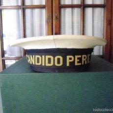 Militaria: ANTIGUO LEPANTO DE MARINA CON CINTA DEL PATRULLERO CANDIDO PEREZ. Lote 60663347