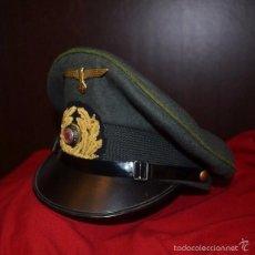Militaria: KRIEGSMARINE - III REICH - ARTILLERIA DE COSTA - ALTA CALIDAD - TALLA 57 - REPRO. Lote 157006364