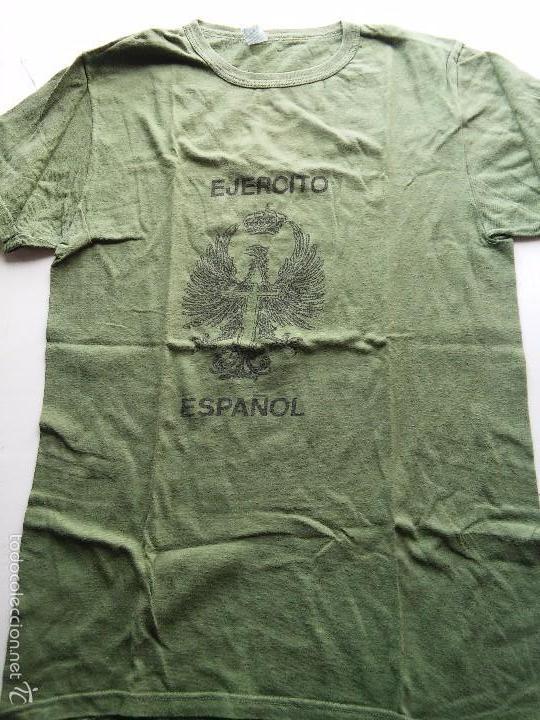 CAMISETA - JERSEY - EJERCITO INFANTERIA ESPAÑOL - AÑOS 1990 - VER FOTOS (Militar - Otros relacionados con uniformes )