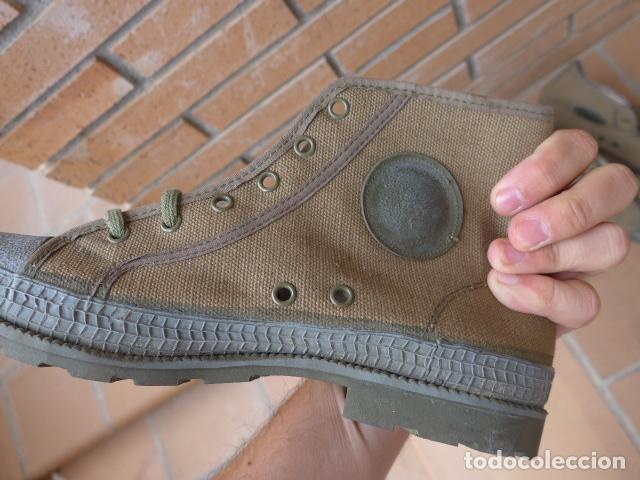 Militaria: * Lote 2 pareja de botas militares españolas antiguas, Satej segarra, numero 41, botines. - Foto 4 - 62291692