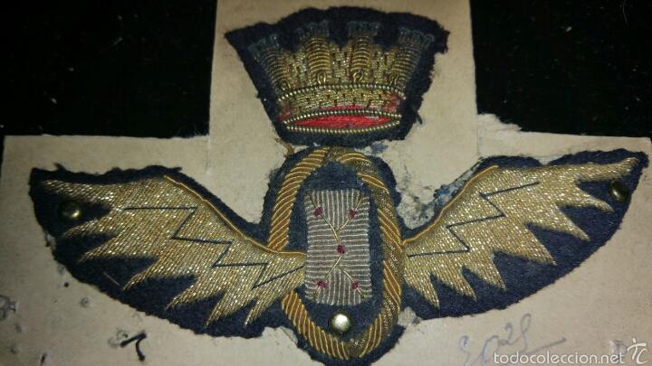 PARCHE O INSIGNIA BORDADA REPUBLICANA DE OFICINAS DE CORREOS ORIGINAL 100% (Militar - Otros relacionados con uniformes )
