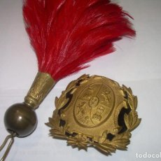 Militaria: ANTIGUOS COMPLEMENTOS PARA GORRA ROS....EPOCA ALFONSO XIII.. Lote 62901488