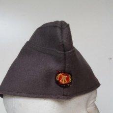 Militaria: GORRO MILITAR .ALEMANIA (DDR-RDA). Lote 63266064
