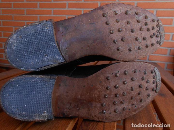 Militaria: botas de clavos suela de cuero muy antiguas ,alemanas? T47 - Foto 5 - 63484832