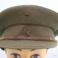 Militaria: GORRA DE PLATO CUERPO PRISIONES - SOMBRERERIA F. RIUS - EN LEON. Lote 63901219