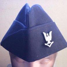 Militaria: USN. US NAVY. GORRA NEGRA. Lote 64835695