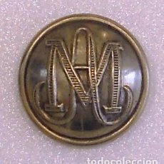 Militaria - BOTÓN ADMINISTRACIÓN MILITAR MOD.1853 PLATEADO DE 20 MM - 65900662