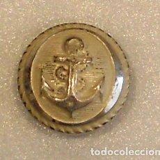 Militaria: BOTÓN MARINA MERCANTE PLATEADO DE 18 MM. Lote 65900726
