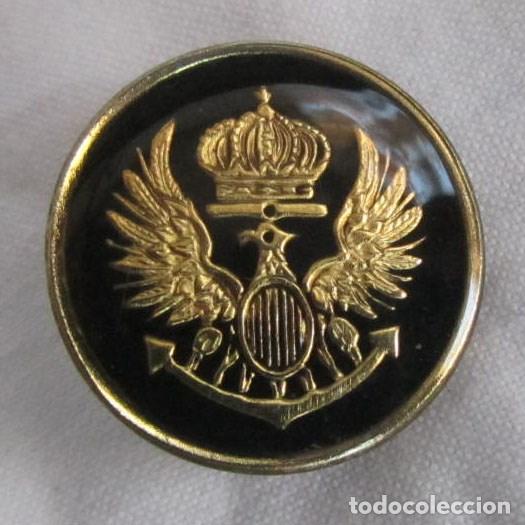 2.80 euros//St. el emblema de metal botón caballo * bastones 22mm