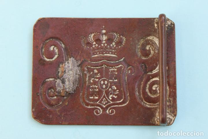 Militaria: HEBILLA GUARDIA CIVIL 1854 -1911 - Foto 2 - 66250234