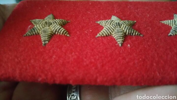 Militaria: Galleta o distintivo de Pecho graduación capital bordado en hilo de oro guerra civil y posguerra - Foto 2 - 66507669