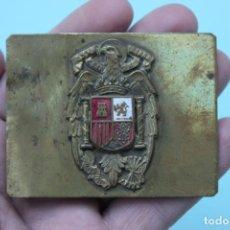 Militaria: HEBILLA GUARDIA DE FRANCO. Lote 66766966