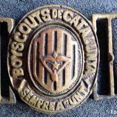 Militaria: (JX-161192) HEBILLA DE CINTURON DE BOYSCOUTS DE CATALUNYA,SEMPRE A PUNT-REPUBLICA O GUERRA CIVIL. Lote 66839102