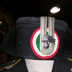 Militaria: TRICORNIO DE ALTA DIVISA DE CARABINIERI PARA GALA. Lote 66867239