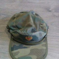 Militaria: ORIGINAL ANTIGUA GORRA MILITAR. Lote 67069642