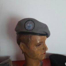 Militaria: BOINA GRIS DEL MANDO CONJUNTO DE CIBERDEFENSA MODELO ACTUAL. Lote 100720582