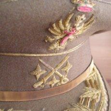 Militaria: GORRA DE TENIENTE GENERAL. EJERCITO DE TIERRA. EXCEPCIONAL CALIDAD EN LOS BORDADOS. EPOCA DE FRANCO.. Lote 69076433