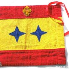 Militaria: BANDERÍN DE COCHE PARA GENERAL DE DIVISIÓN. EN PERFECTO ESTADO - PERTENECIO A UN DIVISIONARIO . Lote 69683789