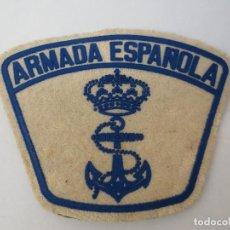 Militaria: GALLETA DE LA ARMADA ESPAÑOLA CON BELCRO.. Lote 69708909