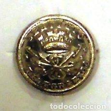 Militaria: BOTÓN SERVICIO TELEGRÁFICO II REPÚBLICA PLATEADO 13 MM. Lote 70261761