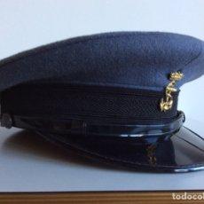 Militaria: GORRA DE PLATO GRIS DE LA ARMADA.POSIBLEMENTE DE PN POLICÍA NAVAL. AÑOS 60/70. MARINA DE FRANCO.. Lote 70273214