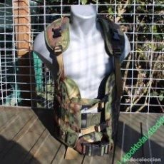 Militaria: CHALECO TACTICO CAMO HOLL NL 100% NYLON MILITAR ORIGINAL 604905 MF COMO NUEVO . Lote 70531825