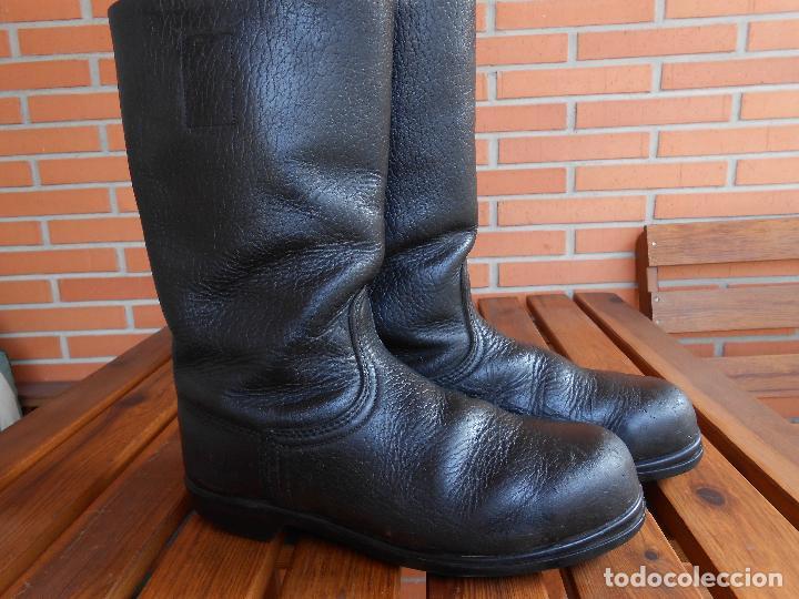 Botas alemanas de cuero grueso caña alta talla - Vendido en Venta ... 7be4ebbf4f5bc