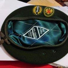 Militaria: BOINA DE TROPA, PRIMER MODELO, LEGIONARIO, BOEL BANDERA DE OPERACIONES ESPECIALES DE LA LEGION. Lote 71411751