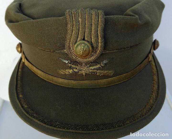 Militaria: TERESIANA COMANDANTE LEGION ESPAÑOLA, COLOR KAKI, ESTRELLA bordada,EPOCA FRANCO, MELILLA - Foto 3 - 71602259