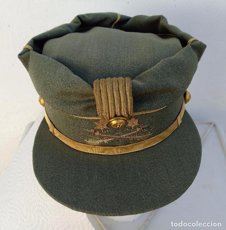 Militaria: TERESIANA TENIENTE LEGION ESPAÑOLA, COLOR VERDE LEGION O SARGA, ESTRELLA bordada, - Foto 3 - 71602463