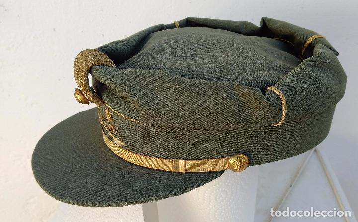Militaria: TERESIANA TENIENTE LEGION ESPAÑOLA, COLOR VERDE LEGION O SARGA, ESTRELLA bordada, - Foto 4 - 71602463
