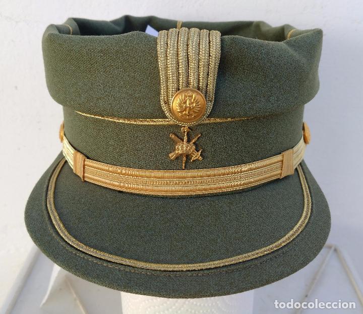TERESIANA EMPLEO SARGENTO LEGION ESPAÑOLA, COLOR VERDE LEGION O SARGA, (Militar - Boinas y Gorras )