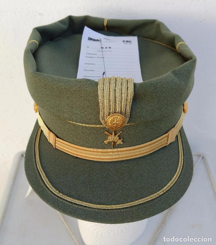 Militaria: TERESIANA empleo SARGENTO LEGION ESPAÑOLA, COLOR VERDE LEGION O SARGA, - Foto 2 - 71602651