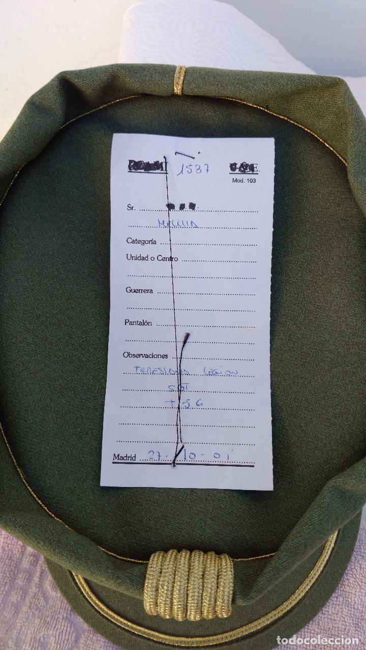 Militaria: TERESIANA empleo SARGENTO LEGION ESPAÑOLA, COLOR VERDE LEGION O SARGA, - Foto 4 - 71602651