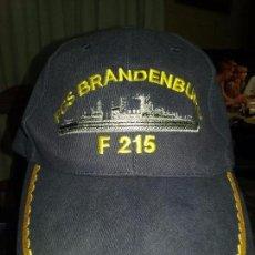 Militaria: ARMADA ALEMANA. GORRA DE MANDO DE LA FGS BRANDENBURG. Lote 71763954