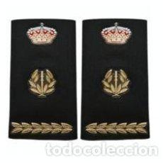 Militaria: NUEVAS HOMBRERAS DEL CUERPO NACIONAL DE POLICIA DE INSPECTOR JEFE DE TEX-FLEX (OFICIALES-PAR). Lote 121452311