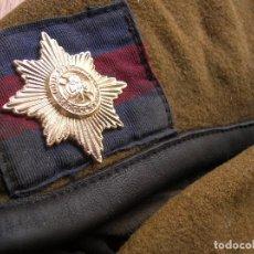 Militaria: BOINA BRITANICA. IRISH GUARDS. GUARDIAS IRLANDENSES. EJERCITO BRITANICO.. Lote 72222207