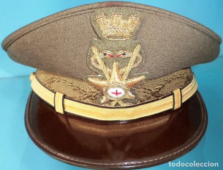 GORRA PLATO ITALIANA DE MEDICO MILITAR (Militar - Boinas y Gorras )